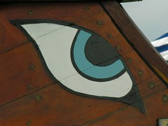 Olympias Trireme - Eye Detail by http://www.flickr.com/photos/jazzhaven/