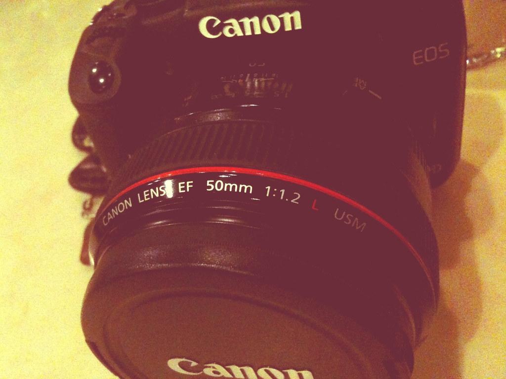 Canon 50mm f/1.2 L