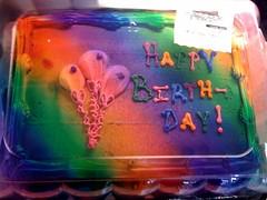 Ugly walmart cake