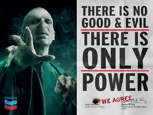 """Chevron & Voldemort """"We Agree"""""""