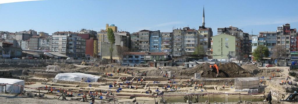 Area de excavación en Yenicapi