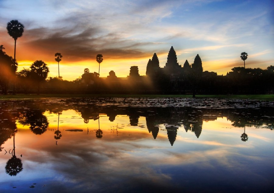 Sunrise Discovery of Angkor Wat