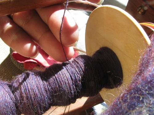 Purple Merino Singles