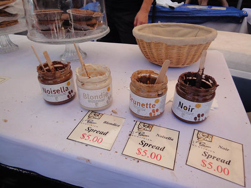 Norton Street Italian Festa: Chocolate spreads