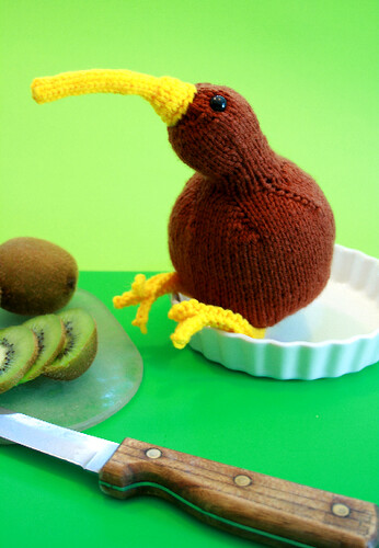 * I have some serious love for this Crazy Kiwi Bird!  :D