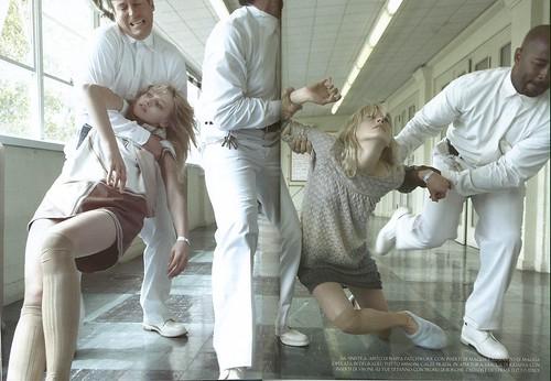 Rehab / Steve Meisel / Italian Vogue by fashionaddictdiary.