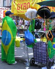 Selling souvenirs