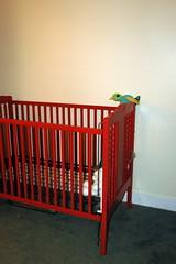 Red Crib