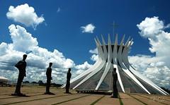 The symbol of Brasília