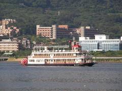 36.航行在淡水河上的遊輪