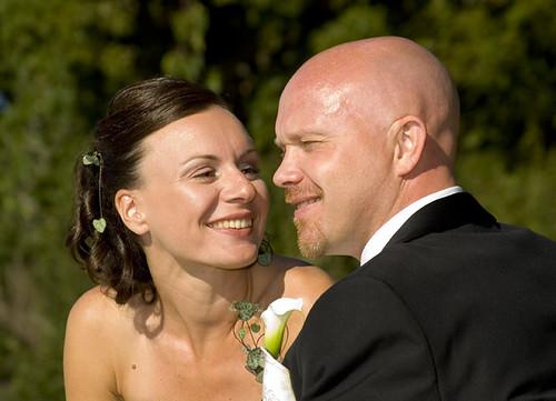 Nicklas & Eliza, bröllopsdag
