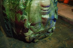 The head of Medusa at The Basilica Cistern | Istanbul