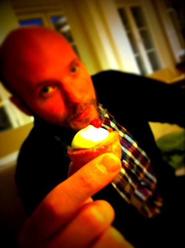 Ego and the mini cupcake