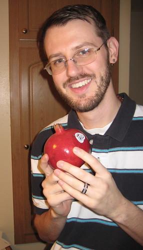Craig and pomegranate