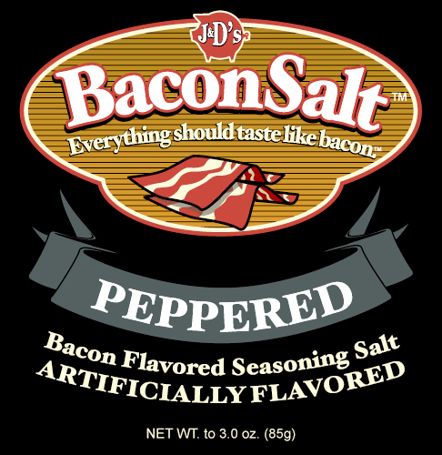 Bacon Salt - Peppered