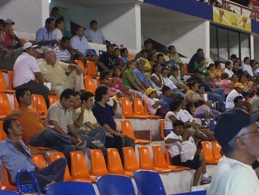Crowd at the Tigres game