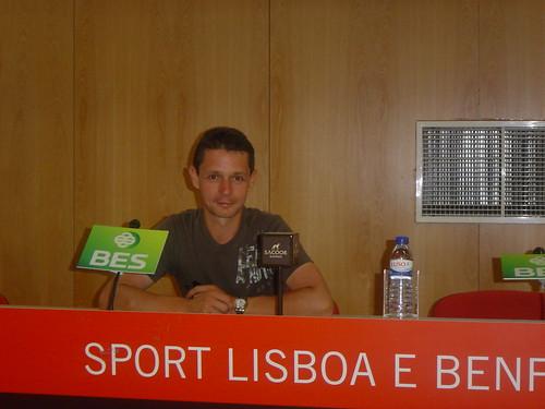 Lissabon - Benfica press room