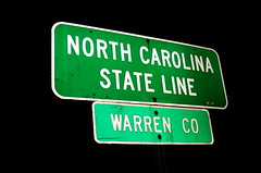 North Carolina State Line: Warren County