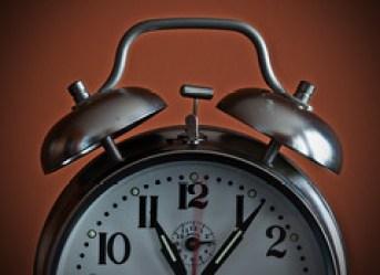 *Time* Ticking away...