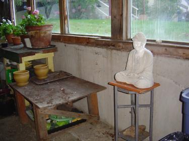 Greenhouse buddha