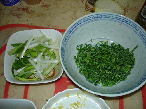Spring Onion and Chives