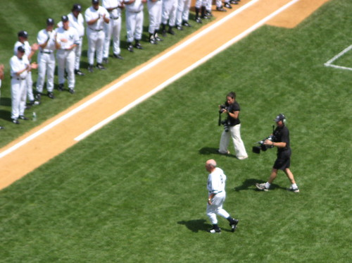 Yogi takes the field