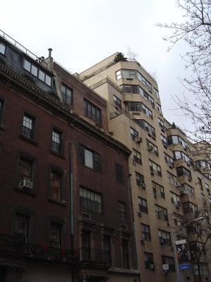 Imposing facade