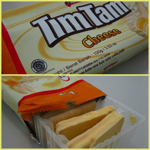 New Timtam Orange Flavor