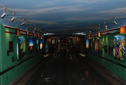 花蓮火車站-地下道