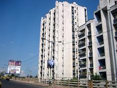 Apartment blocks, Kolkata