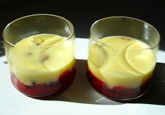 Framboises au fromage blanc citronné Schritt 3