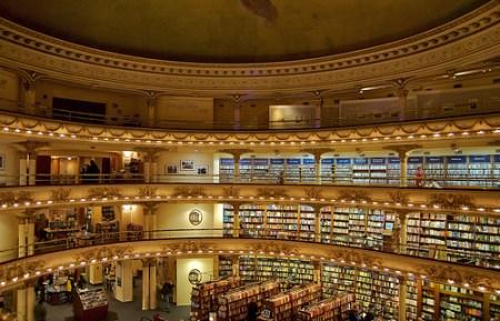 El Ateneo Bookstore in Recoleta, by longhorndave on Flickr
