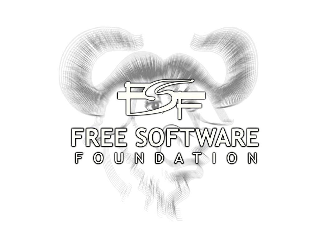 FSF Wallpaper (blanco)