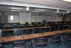 One of our library classrooms