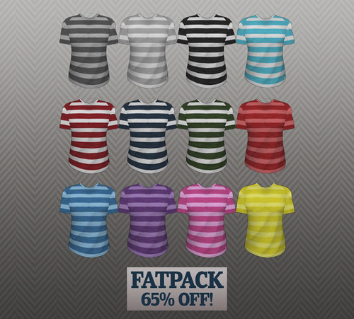 Reek - Right Stripes Tee Options