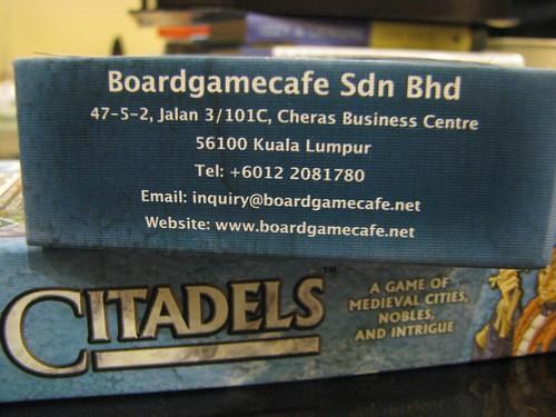 Citadels - Malaysian Edition