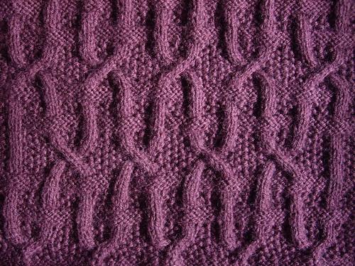 Threaded Lattice on Seed Stitch