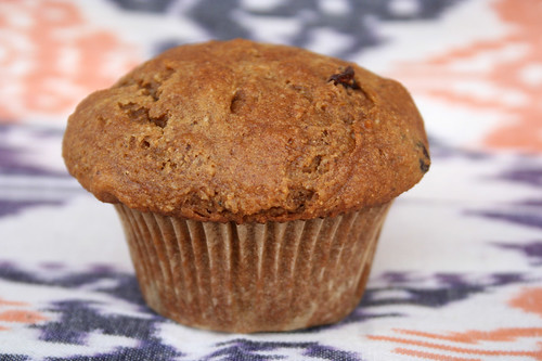 Pumpkin Spice Muffins with Hazelnuts and Cranberries