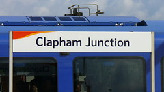 clapham junction railway station sign