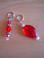 Red Stitch Markers