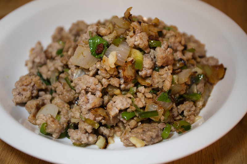 Salt & Pepper Ground Pork