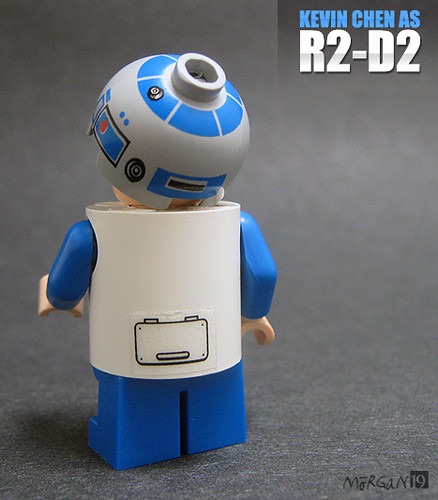 Kevin Chen as R2-D2 (Back)