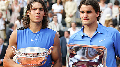 Nadal and Federer French Open 2007