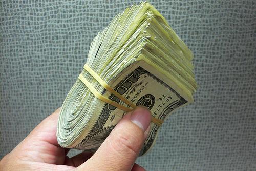 Wad o' cash