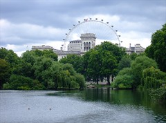 Millenimum Wheel from St James's Park