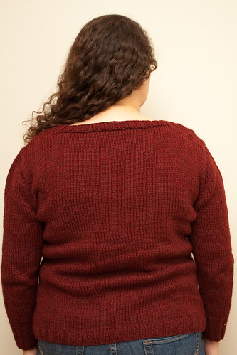 Climbing Vines Pullover - Back