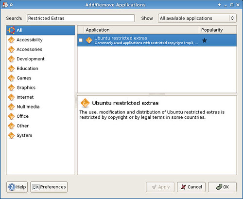 How do i install the ubuntu-restricted-extras package? Ask ubuntu.