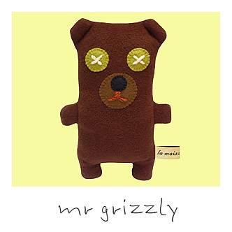 Mr Grizzly La Maison de Lola