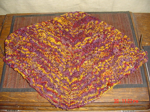 Autumn Mystery Shawl