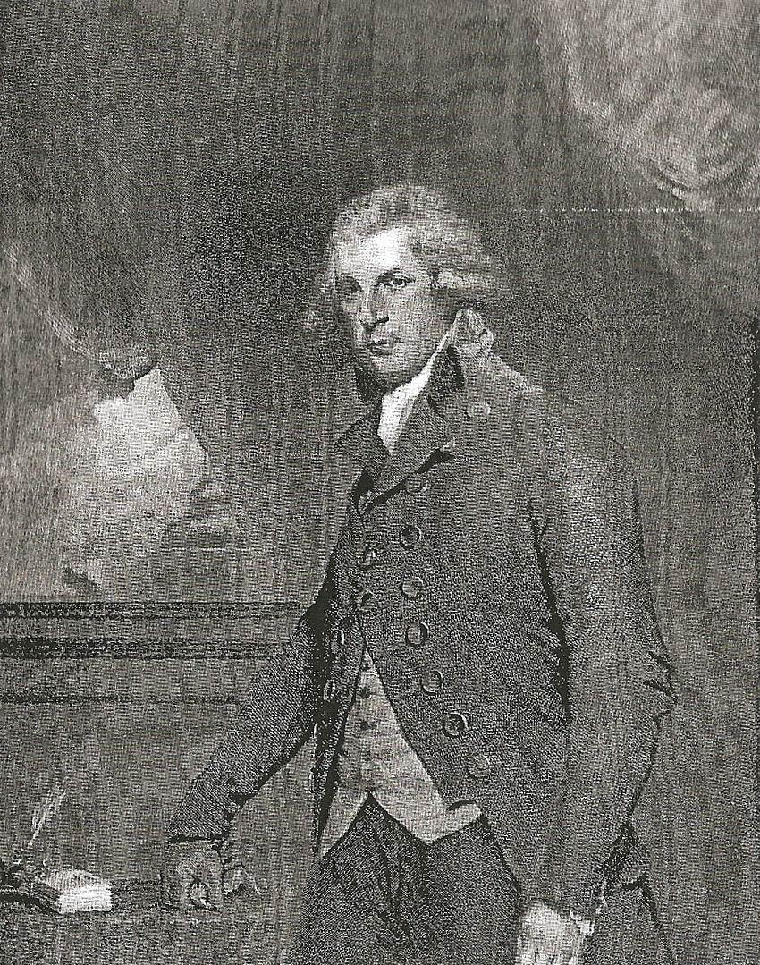 RBSheridan.Hall Engraving from Joshua Reynolds Painting